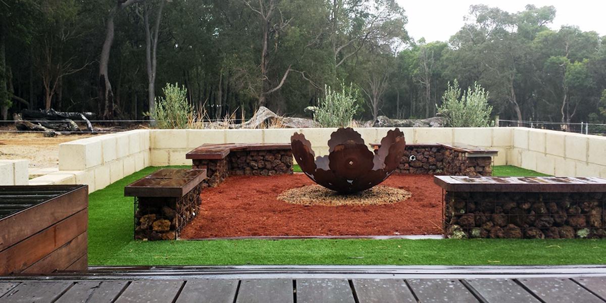 A garden on a farm Topio Landscape Architecture Margaret River