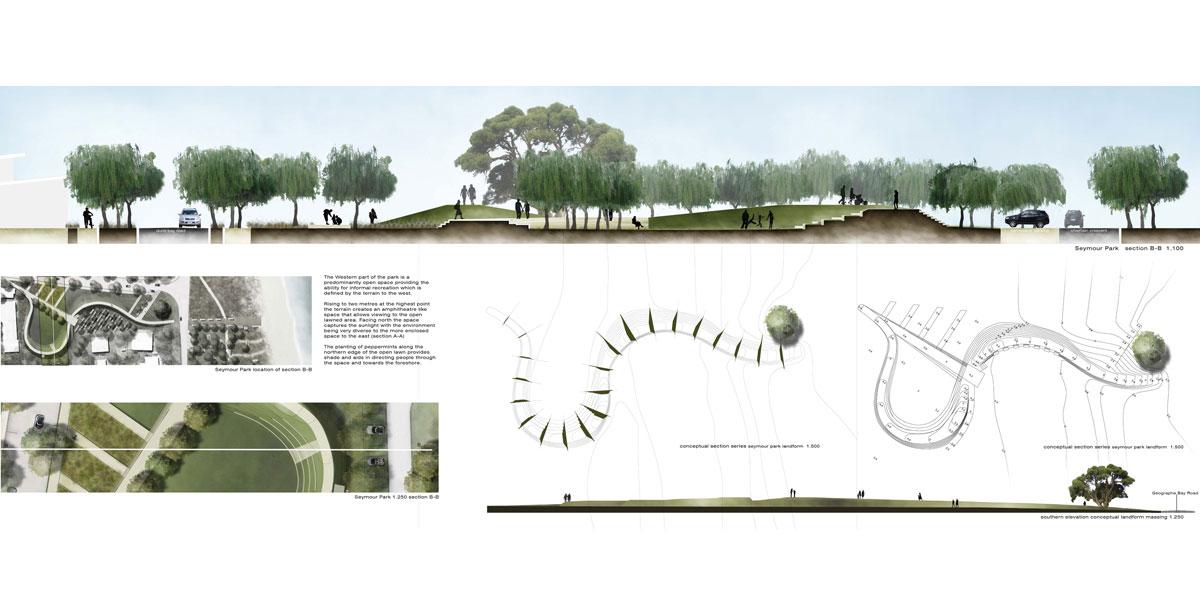 Conceptual design topio landscape architecture margaret for Landscape architecture design